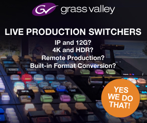 Grass Valley Live Switcher