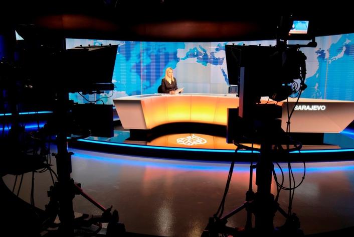 Production Studios Al Jazeera Balkans News Studio Live