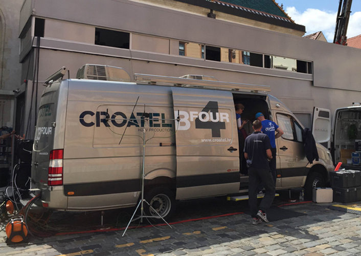 Croatel HD OBVan 4HD Total View