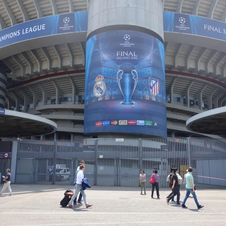 T25 at the UEFA CL Final in Milano