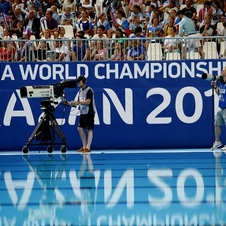 Panorama at FINA World Championships in Kazan