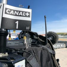 MotoGP in San Remo for Canal+ 2019