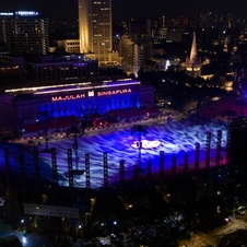 Over 600 Claypaky Fixtures Light up Singapore's Bicentennial National Day Celebrations