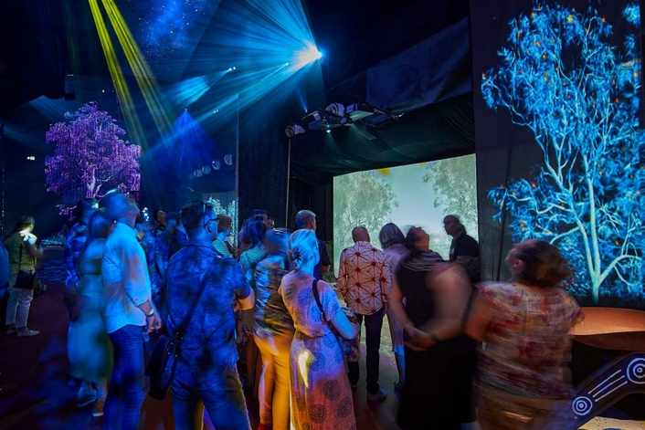 Novatech brings Yabarra – Dreaming in Light to life at Adelaide Fringe