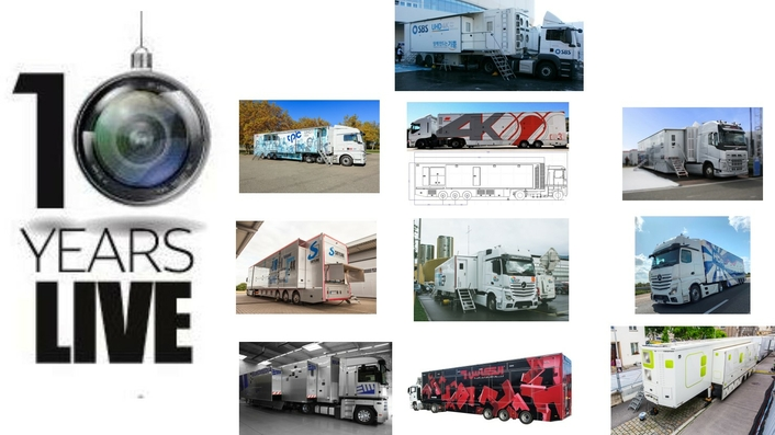 10 Years Live Production.TV – the 10 most visited OB Trucks