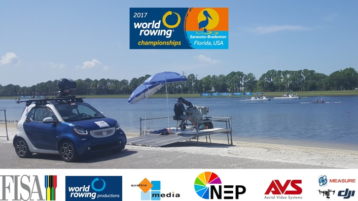 AVS, Measure and NEP Support 2017 FISA World Rowing Championships