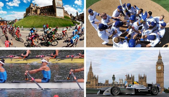 Cycling - Rowing - Baseball - Formula E | LIVE-PRODUCTION TV
