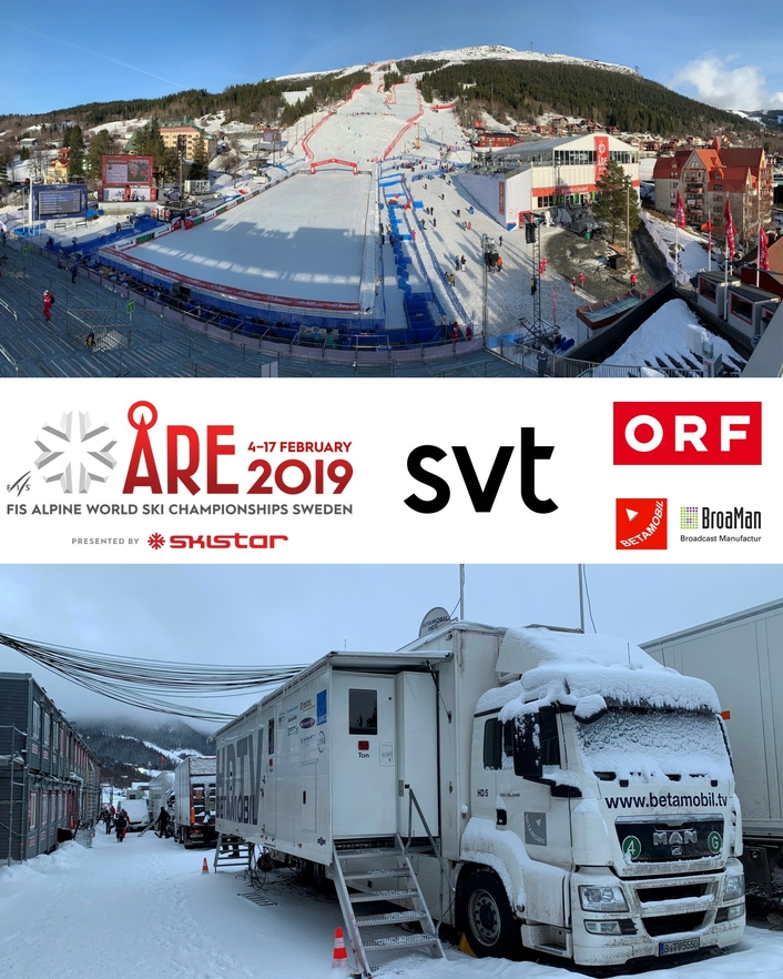 The Production of the Alpine Ski World Championships in Åre for ORF