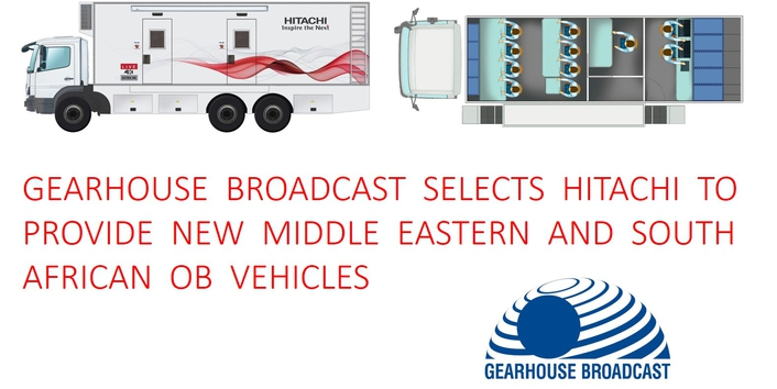 Gearhouse Broadcast selects Hitachi to provide new Middle Eastern and South African OB vehicles
