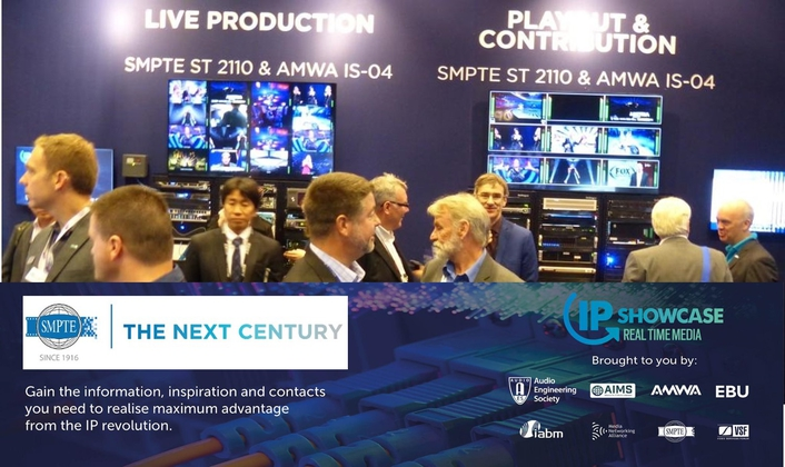 First ST 2110 Standards Approved by SMPTE