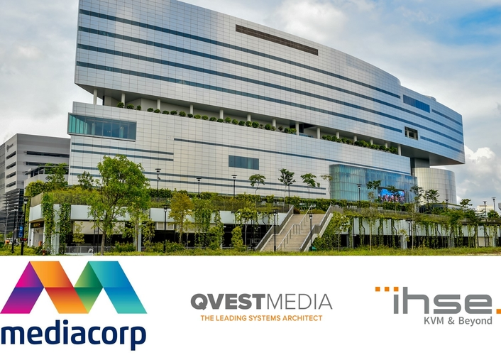 Mediacorp – Singapore's pre-eminent multi-platform broadcaster bases operations around IHSE's Draco tera KVM switches and extenders