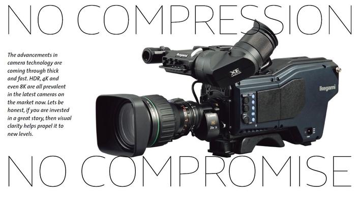 No compression, No Compromise