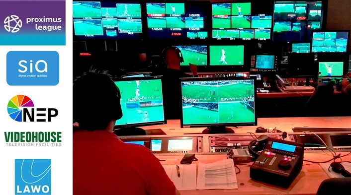 <b>Proximus</b> League and Cloud Production | LIVE-PRODUCTION.<b>TV</b>