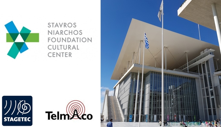 Stage Tec connects the Greek National Opera and the National Library of Greece