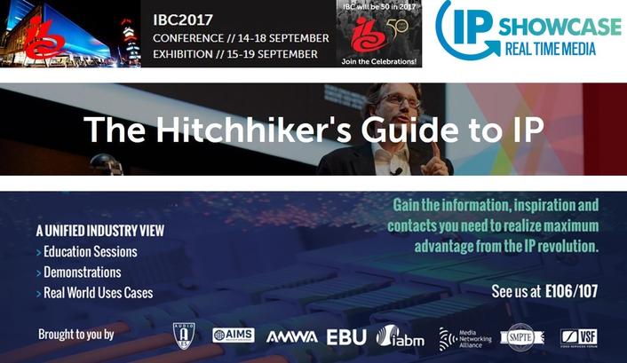IP Showcase at IBC – Powering into IP Signal Flows