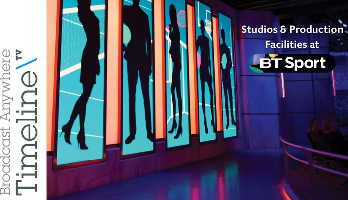 Built with the latest technology and digital workflows, the BT Sport Studios are ideal for both live and complex productions.