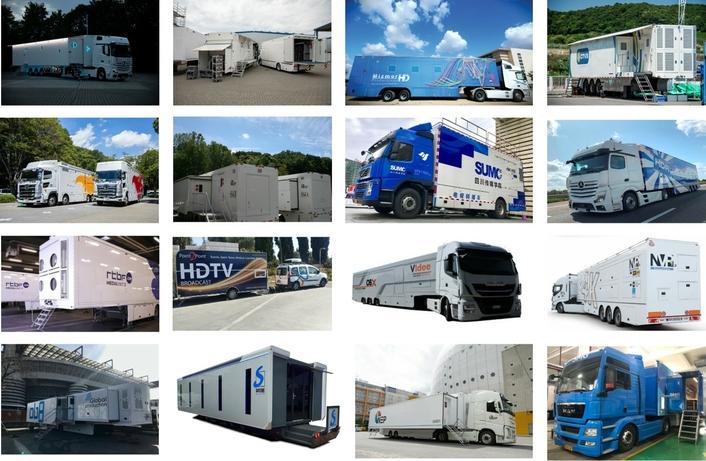 Most visited OBVans/Trucks in September The TOP 16