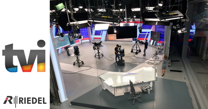 TVI Portugal Embraces Riedel Artist for Studio Modernization