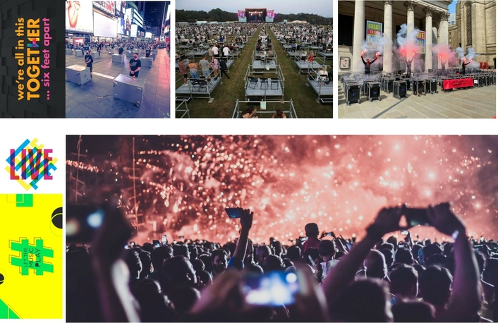 Implement the Universal Basic Income to keep the Live Events Industry alive