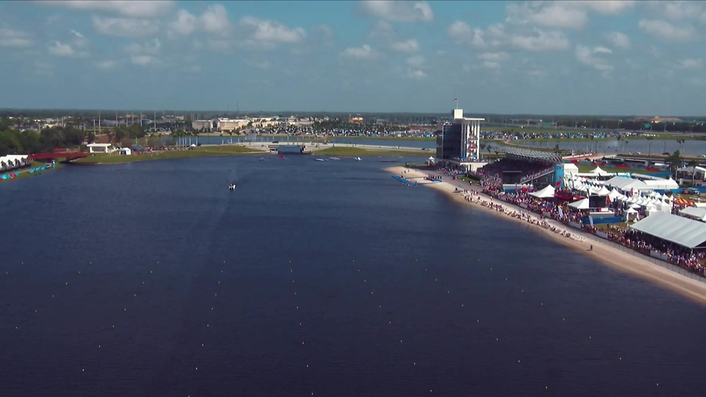 quattro media  host-broadcasts the World Rowing Championships with the support of NEP, AVS and Measure in Sarasota/Bradenton, Florida using Cineflex Gyro tracking systems and – for the first time – Live-Drone integration