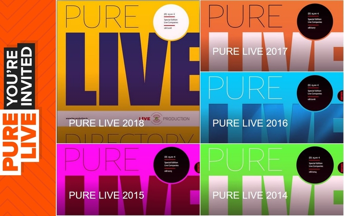 Download your Copy of PURE LIVE