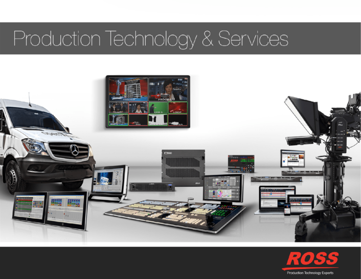 Ross Video is pleased to announce that Ross Mobile Productions, the company's in-house production and rental services division, has changed its name to Ross Production Services.