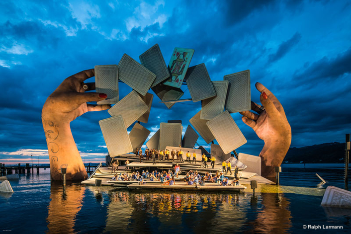 Seebühne Bregenz shines in the light of SGM