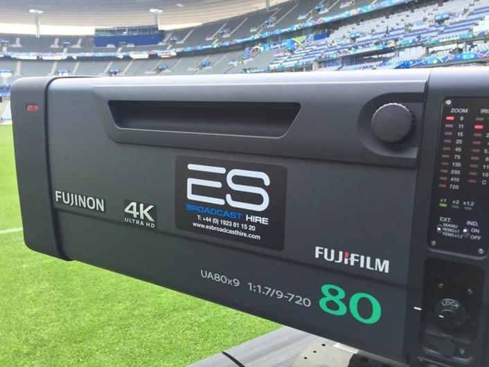 Televising the Revolution: How ES Broadcast Hire is supporting 4K live production