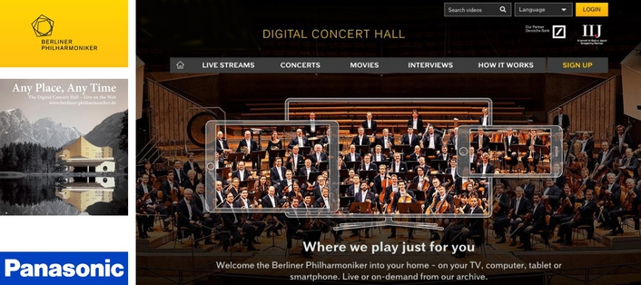 Berliner Philharmoniker and Panasonic sign final agreement to collaborate on technology development