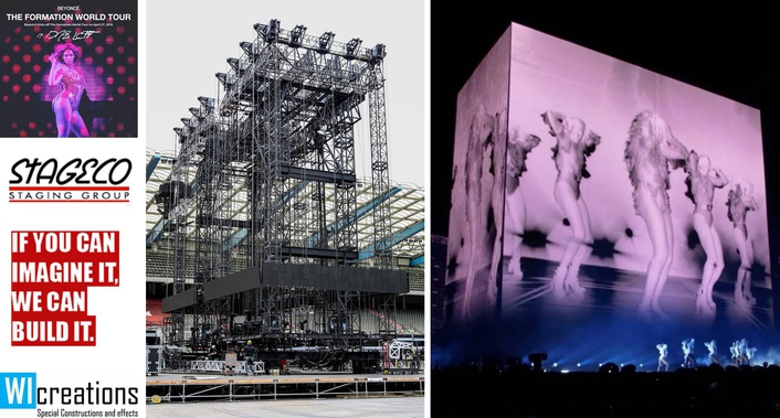 WI Moves the Monolith for Beyoncé