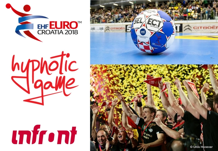 Get ready for the best handball action at the Men's EHF EURO 2018