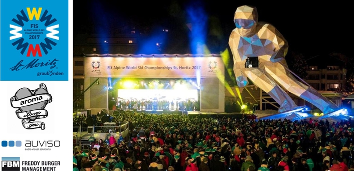 St. Moritz 2017 grand opening of the FIS Alpine World Championships