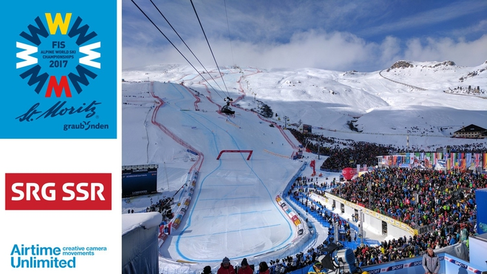 Airtime's Wingcam at the FIS Alpine World Championships in St Moritz