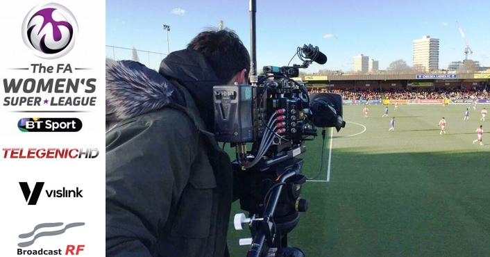 IMT Vislink's HCAM HEVC 4K Wireless Camera System Goes Live, Deployed by Broadcast RF at High-Profile UK Soccer League Matches