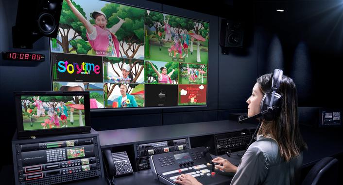 Blackmagic Design Introduces  ATEM 4 M/E Broadcast Studio 4K