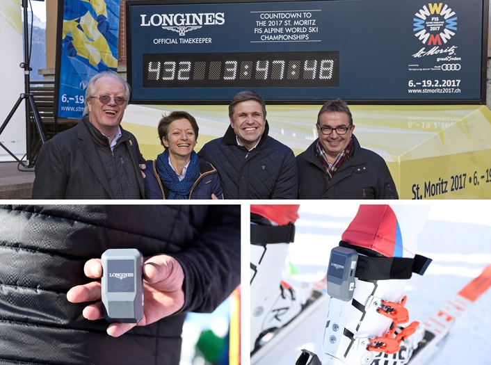 Longines pushes the limits of timekeeping in alpine skiing
