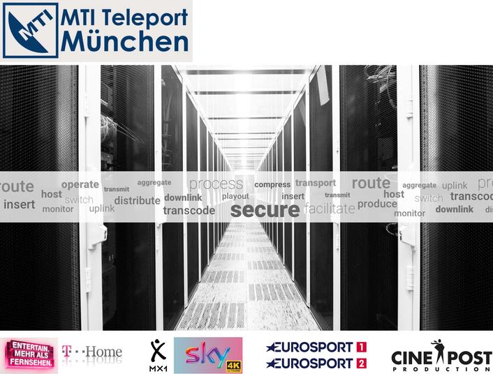 The Media Service Center in Germany: MTI Teleport in Munich