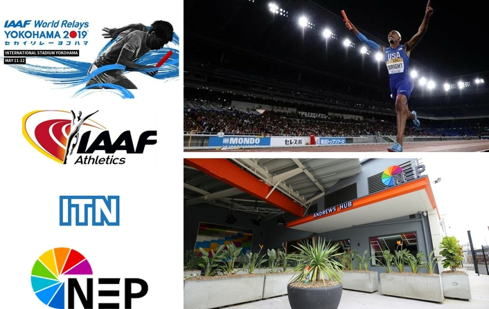 IAAF World Relays in Japan Produced Out of NEP Andrews Hub in Sydney
