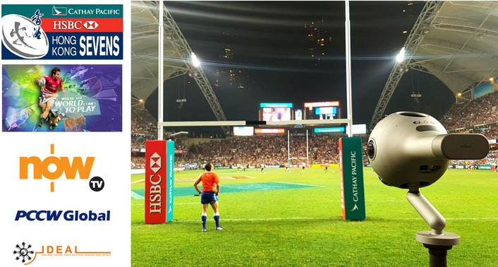 PCCW Global and Ideal Systems collaborated for the world's first live 360 virtual reality broadcast of the 2017 Cathay Pacific/HSBC Hong Kong Sevens