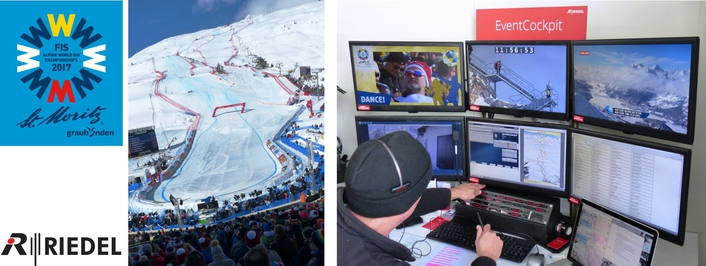 Riedel Communications' Massive Presence at St. Moritz 2017