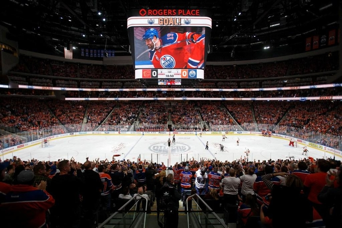 The NHL's Edmonton Oilers Rely on Fujinon Lenses for Inaugural Season in Rogers Place Arena