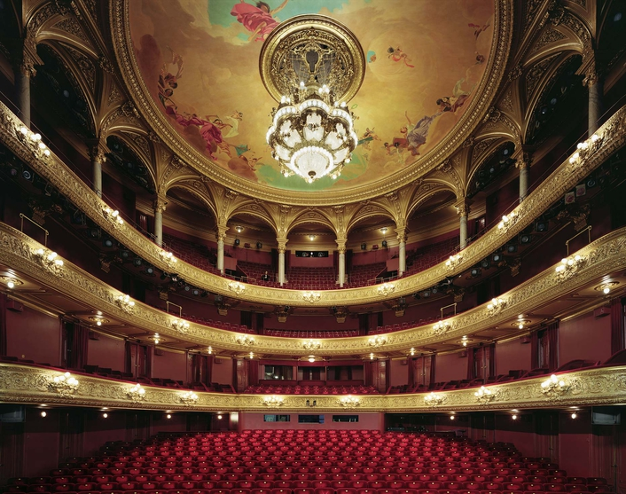 The Royal Opera House in Stockholm
