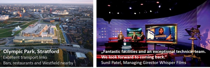 Built with the latest technology and digital workflows, the BT Sport Studios are ideal for both live and complex productions