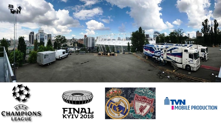 TVN is Host Broadcaster for the 2017/18 UEFA Champions League final in Kyiv