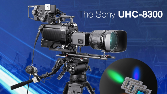 Sony unveils its first 8K System Camera with three 8K sensors