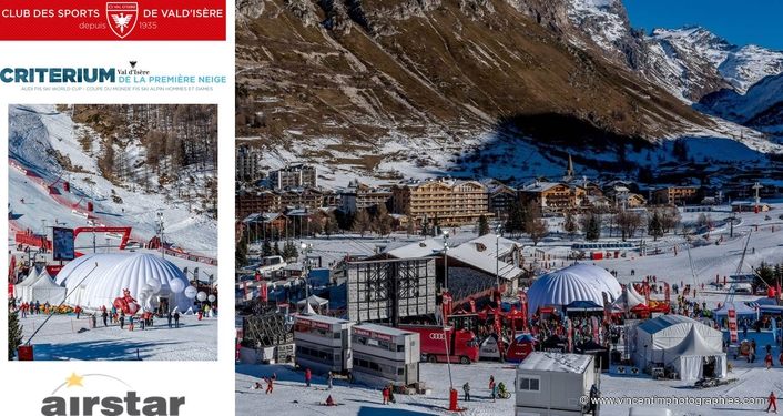 Dune by Airstar Makes National Debut at the Val d'Isère Audi FIS Ski World Cup Criterium
