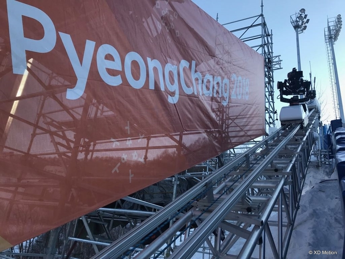 XD Motion at Phoenix Snow Park in PyeongChang
