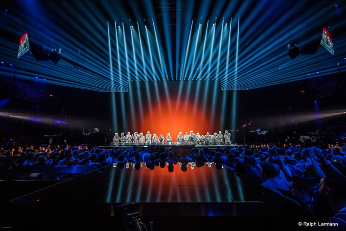 Eurovision Song Contest voted again for grandMA2: Over 60 DMX universes were handled with ease