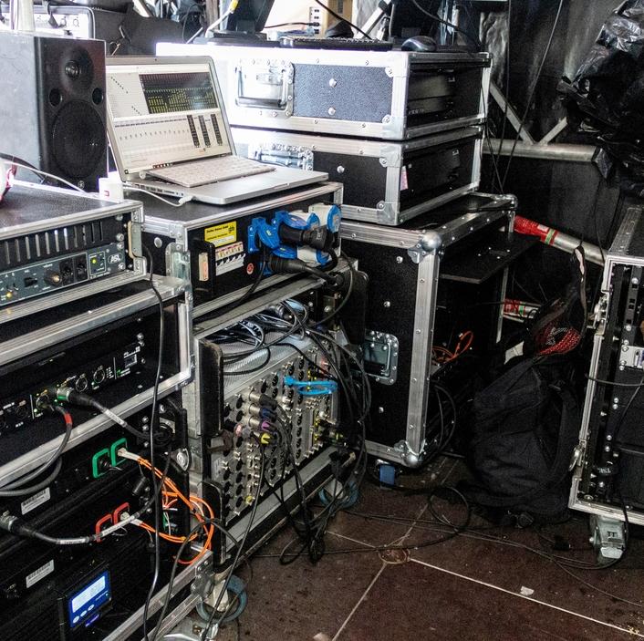 NEXUS as FOH matrix at Classic Open Air Festival