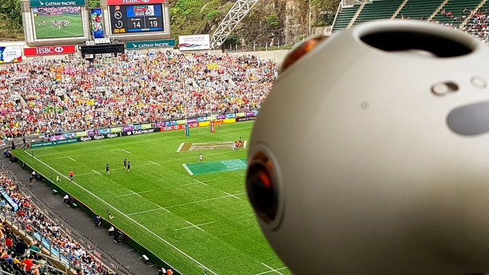 The collaboration involved Ideal Systems delivering the content acquisition using a number of pitch-side Nokia OZO 360° cameras